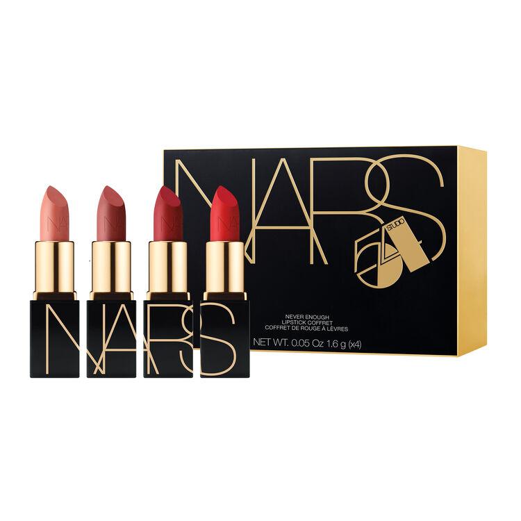 Coffret de mini rouges à lèvres Never Enough, NARS Lèvres