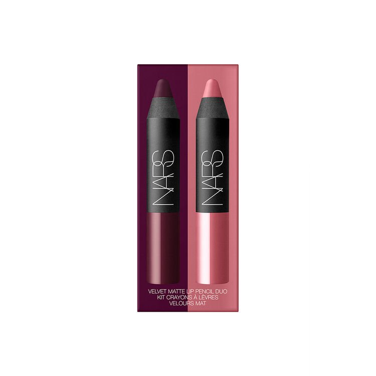Mini Duo Velvet mat lippenpotlood, NARS Doosje voor samples