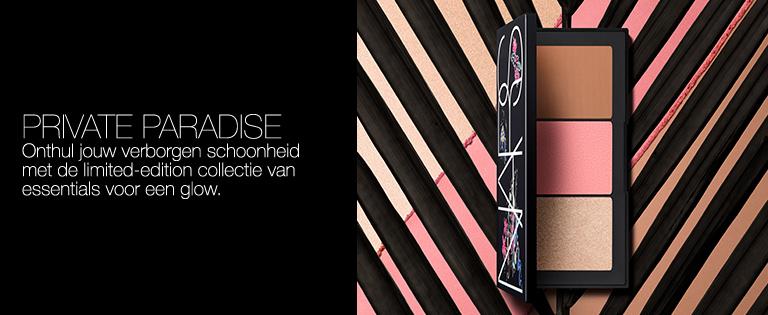 Private Paradise - Onthul jouw verborgen schoonheid met de limited-edition collectie van essentials voor een glow.