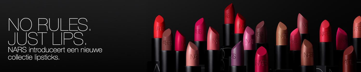 NARS introduceert een nieuwe collectie lipsticks.